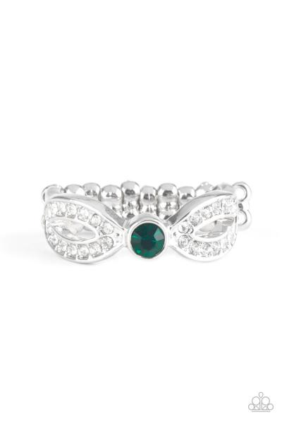 Extra Side Of Elegance - Green