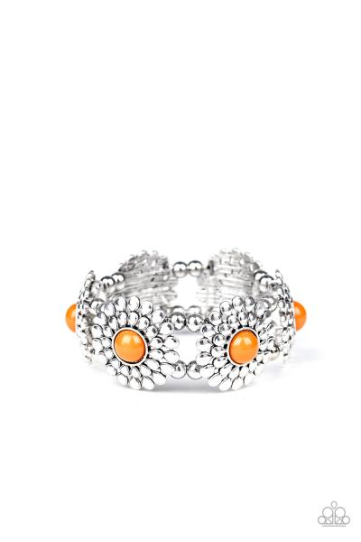 Bountiful Blossoms - Orange
